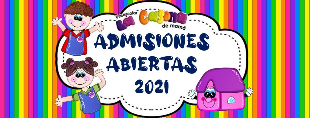Admisiones Abiertas 2021
